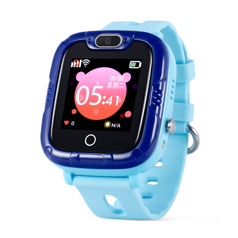 Wonlex KT07S Smart Kids GPS Watch WiFi Smart Waterproof Child GPS Positioning New Message Alarm Sound Guardian SOS Help Tracker Support