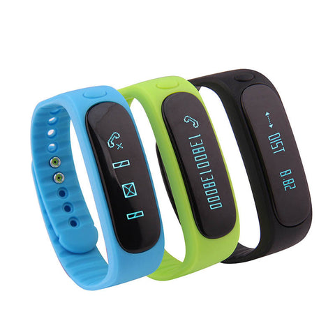 Wonlex E02 Smart Wristband Sport Fitness Sleep Pedometer Band
