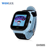 Wonlex GPS Kids Watch GW500S Watch Russian Language Anti-take Off Alarm SOS Help Postioning Tracker