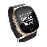 Wonlex EW100S Elderly Smart Watch-Heart rate monitor/Fall down notification