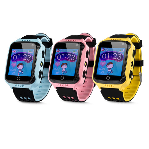Wonlex GW500S Kids GPS Smart Watch Camera Smart Kid GPS Positioning SOS Help Tracker Support Flash Light Voice Monitoring