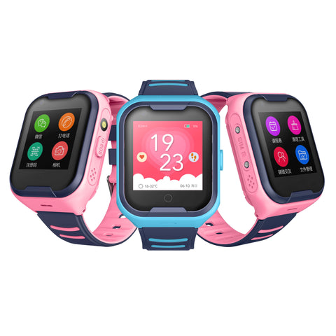 Wonlex KT11 4G Kids Smart Watch Waterproof GPS WiFi Kid Smart Clock Child Wearable Devices GPS Positioning Sound Guardian SOS Help Tracker Support Video Call