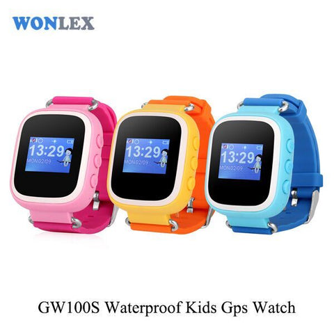 Wonlex GPS kids tracking watch GW100S
