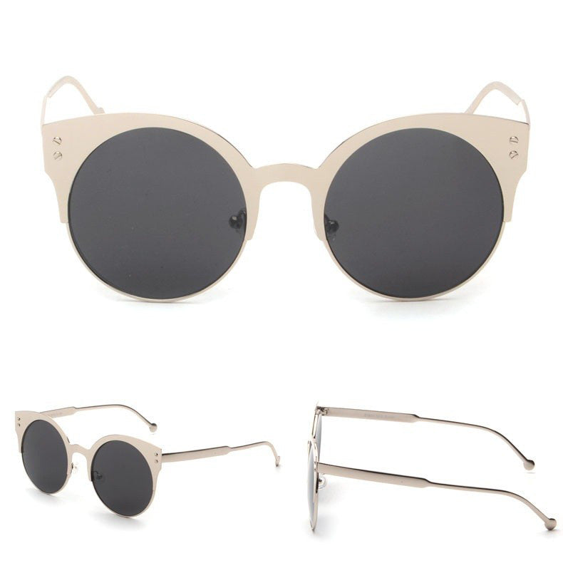 COCO CAT EYE sunglasses, silver