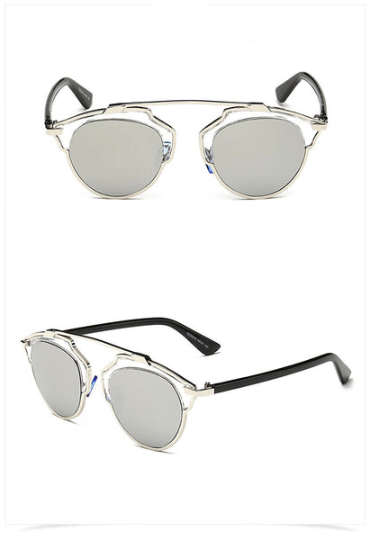BONE sunglasses, chrome