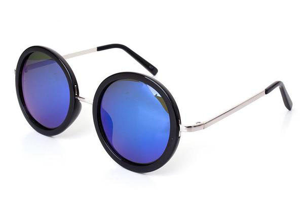 FULL MOON sunglasses, black and blue
