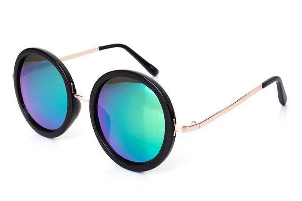 FULL MOON sunglasses, aqua green