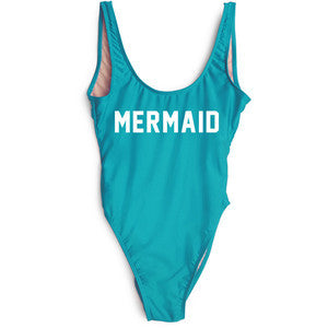 Mermaid swimsuit,  blue / teal