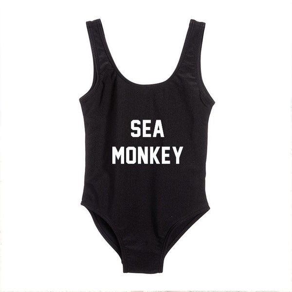 SEA MONKEY swimsuit, black