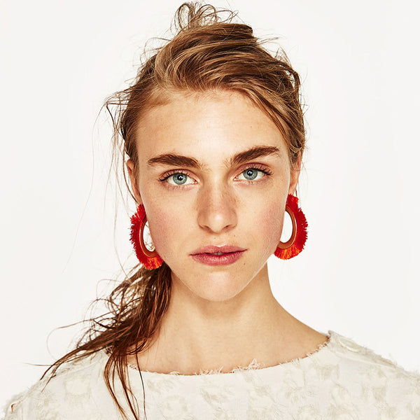 MAKI fringe earrings (more colors)