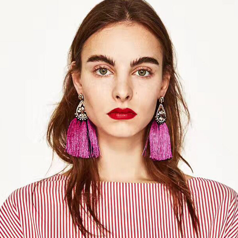 KIKO tassel earrings (more colors)