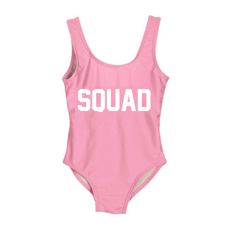 SQUAD swimsuit, pink