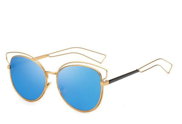 MAGNET cateye sunglasses, blue