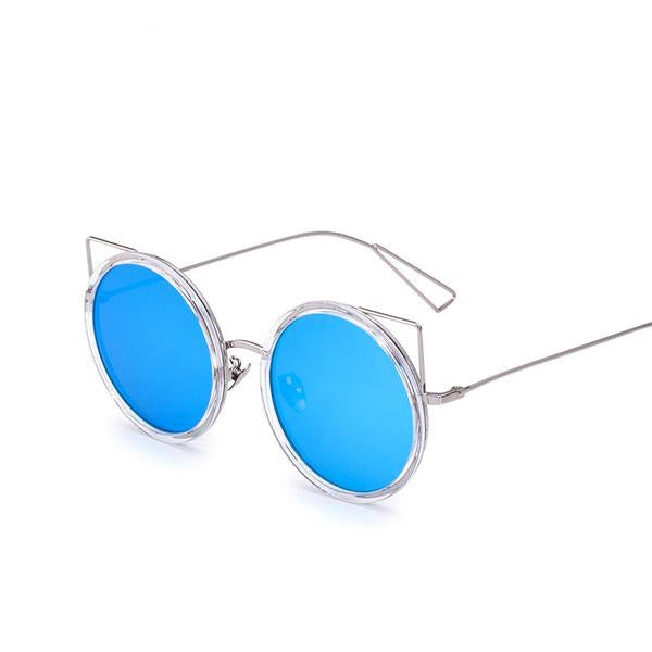 COUGAR SUNGLASSES, blue mirror