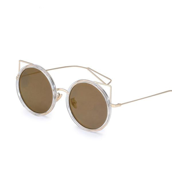COUGAR SUNGLASSES, gold mirror