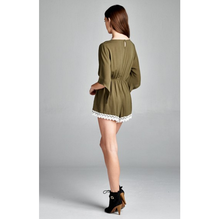 Olive Dreams Playsuit
