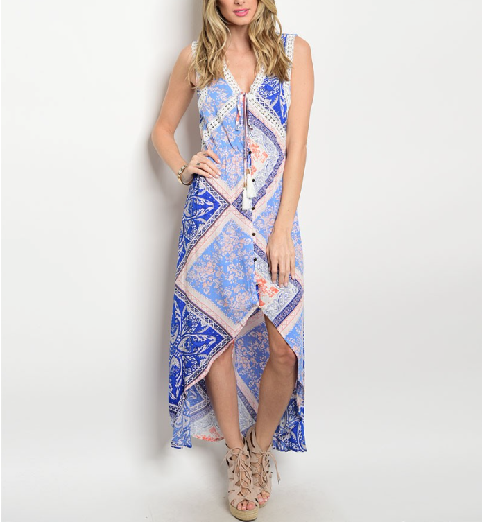 The Marine Maxi Dress