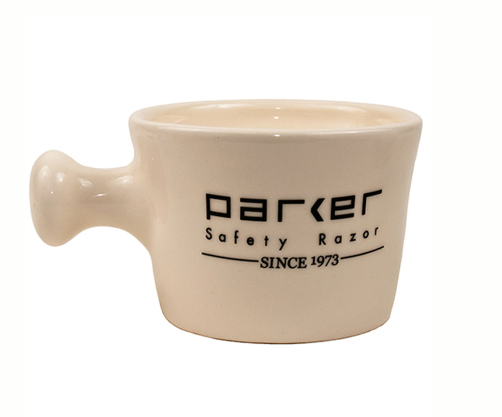 PARKER IVORY APOTHECARY SHAVE MUG