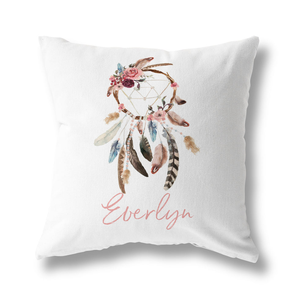 BOHEMIAN FEATHER CUSHION