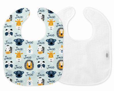LITTLE ADVENTURES PERSONALISED BIB