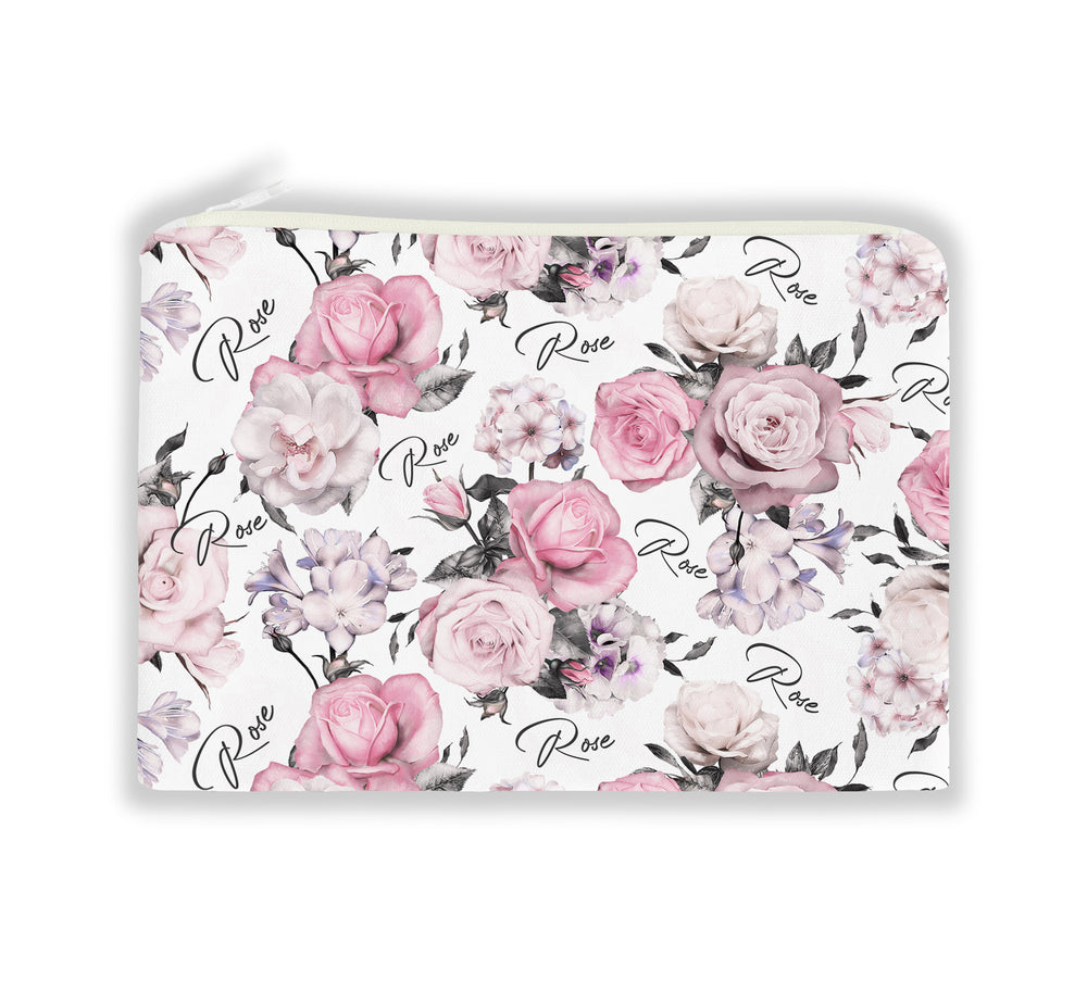 PINK ROSE NAPPY POUCH