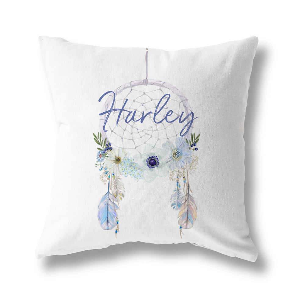 PASTEL BLUE DREAMCATCHER CUSHION