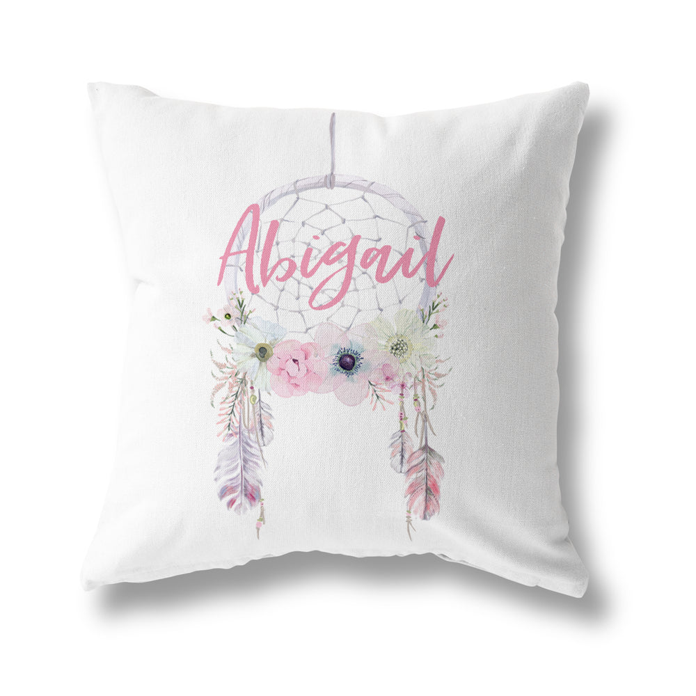 PASTEL PINK DREAMCATCHER CUSHION