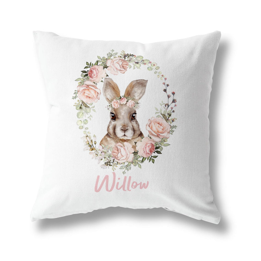 FLOWER BUNNY CUSHION