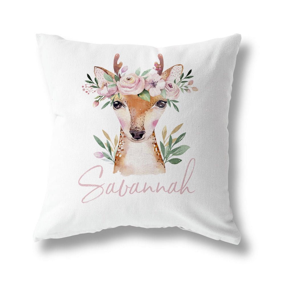 SPRING DEER CUSHION