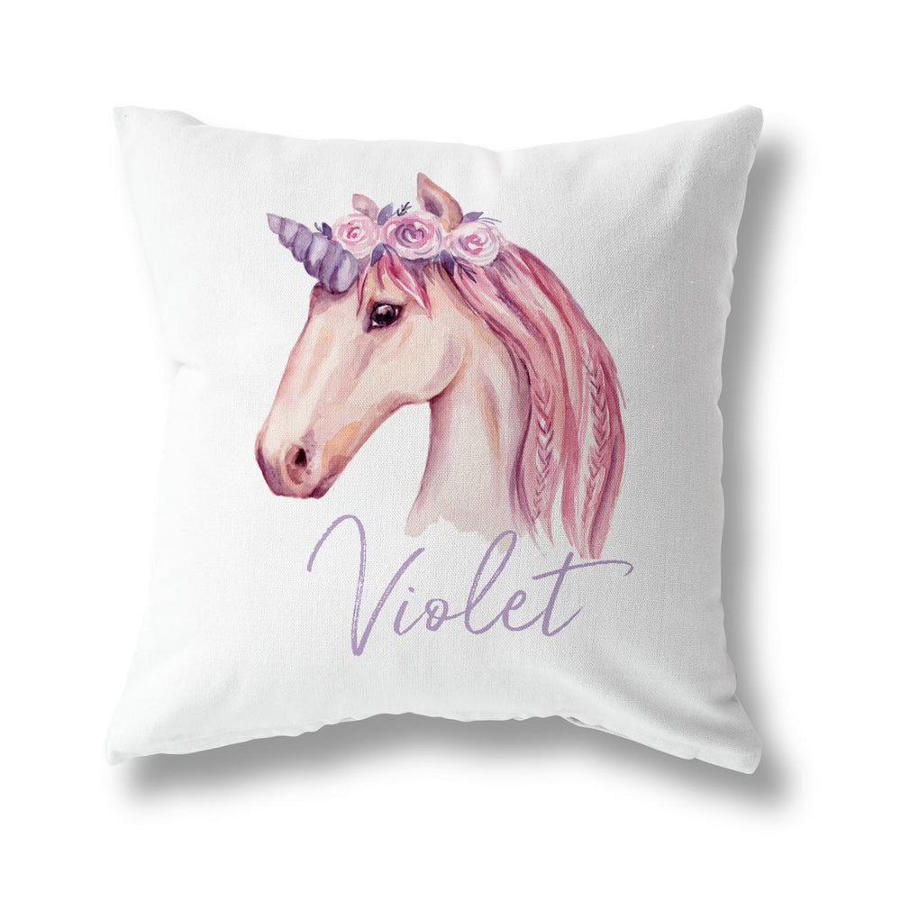 BLUSHING UNICORN CUSHION