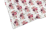 LOVE AND ROSES REVERSIBLE BLANKET