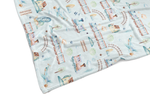 TRAINS & PLANES REVERSIBLE BLANKET