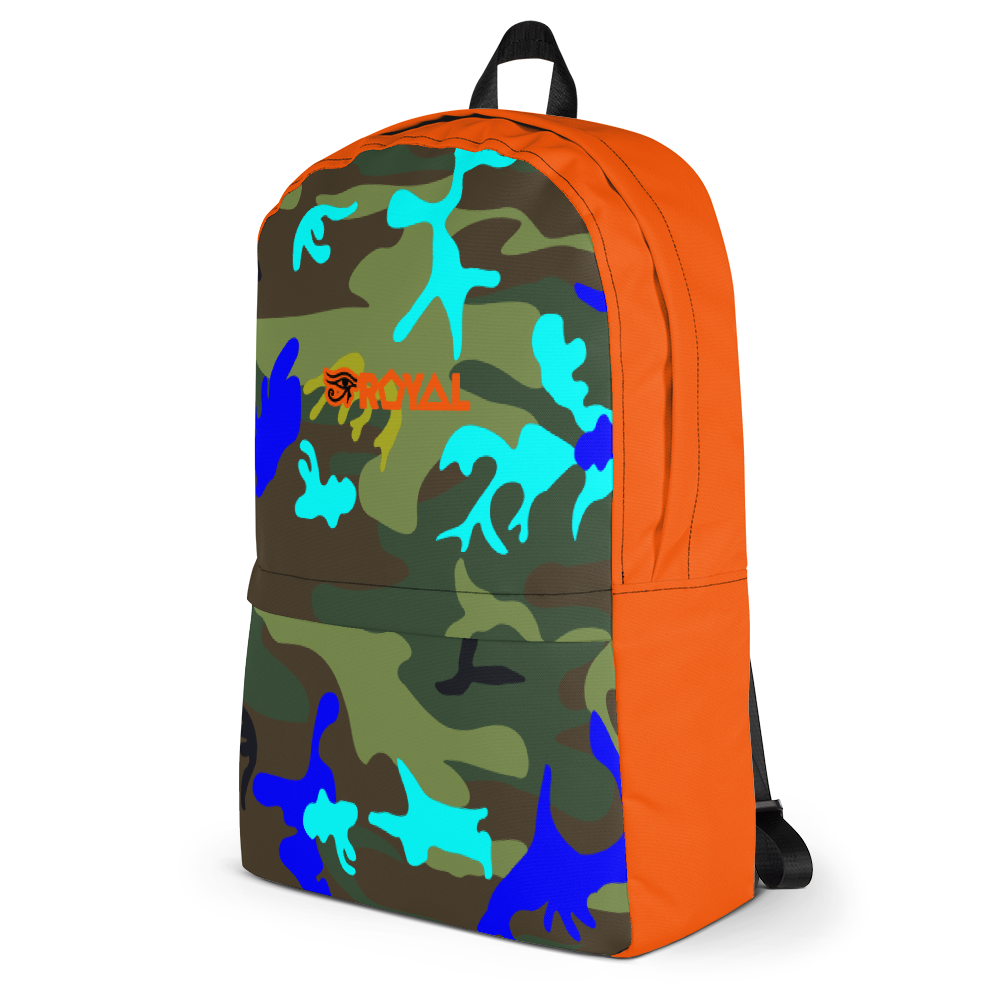 ROYAL. | Urban Resort Ra Pack Lightweight Backpack with hidden Pocket electric jungle camo