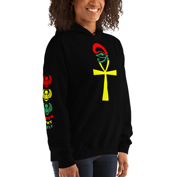 ROYAL. | Urban Resort | KNOW THYSELF ANKH & EYE Unisex Heavy Blend Hoodie & Tee Variety NU AFRIQUE