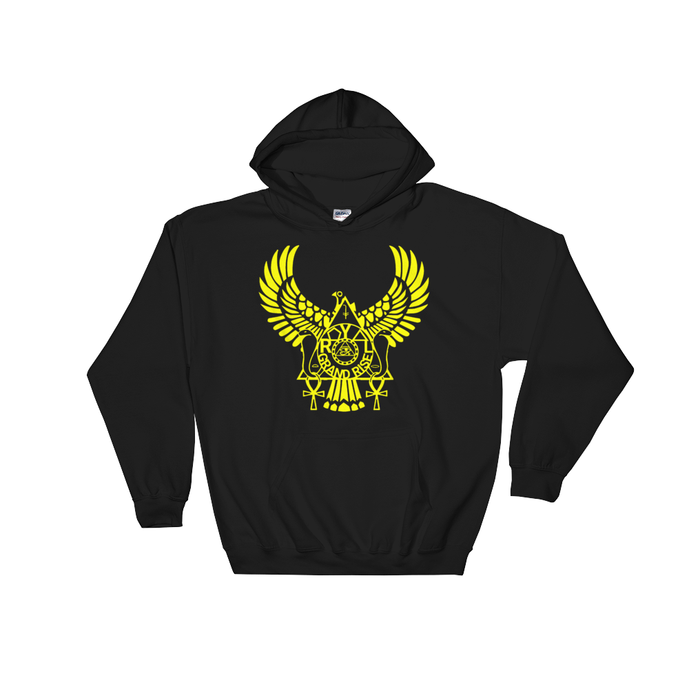 ROYAL. | Urban Resort | RA PARTY ROYAL GRAND RISE Unisex Heavy Blend Hoodie YELLOW (4 VARIETIES)