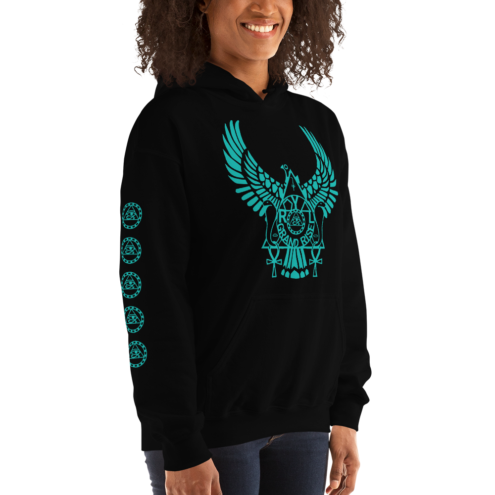 ROYAL. | Urban Resort | RA PARTY ROYAL GRAND RISE Unisex Heavy Blend Hoodie MINT EMBLEM (2 VARIETIES)