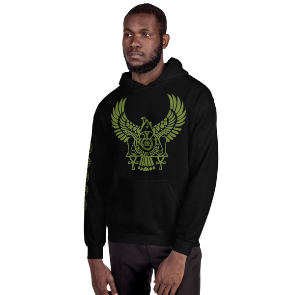 ROYAL. | Urban Resort | RA PARTY ROYAL GRAND RISE Unisex Heavy Blend Hoodie OLIVES N MONEY TREES