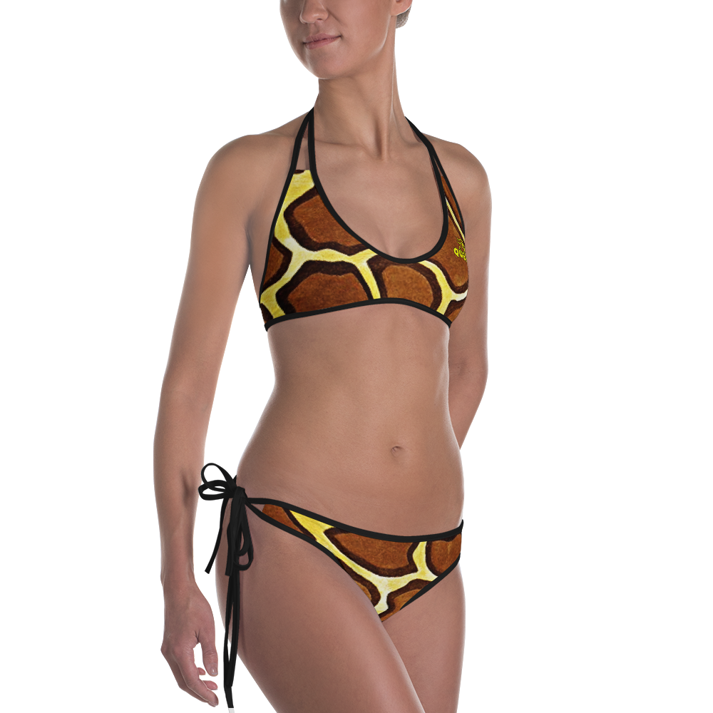 ROYAL. |  Urban Resort | FUTURE TRIBE Eye of Ra Reversible Bikini Animal 1 CHEETAH