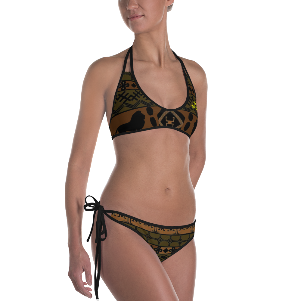 ROYAL. |  Urban Resort | NU AFRIQUE Eye of Ra Reversible Bikini Tribal Eyes
