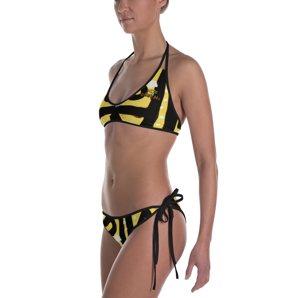 ROYAL. |  Urban Resort | NU AFRIQUE Eye of Ra Reversible Bikini Native Paradise