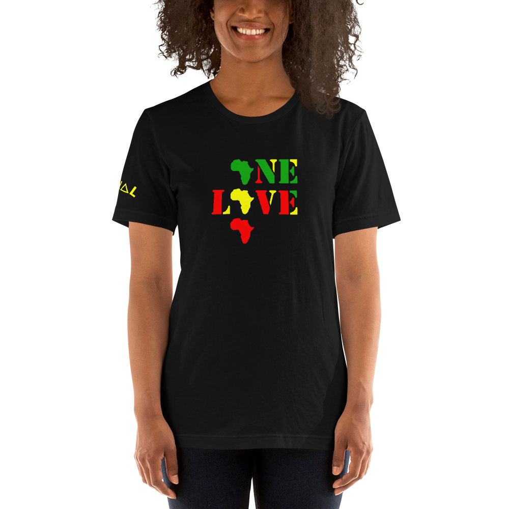 ROYAL. WEAR | 1 Love Afrika unisex tee