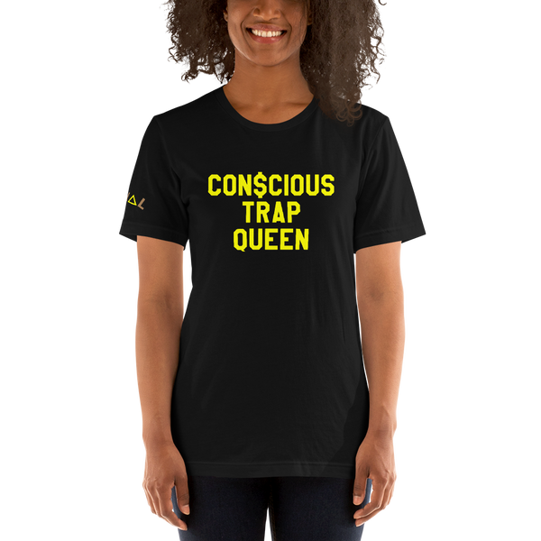 ROYAL. | STATEMENT | unisex gRAf it tee CONSCIOUS TRAP QUEEN