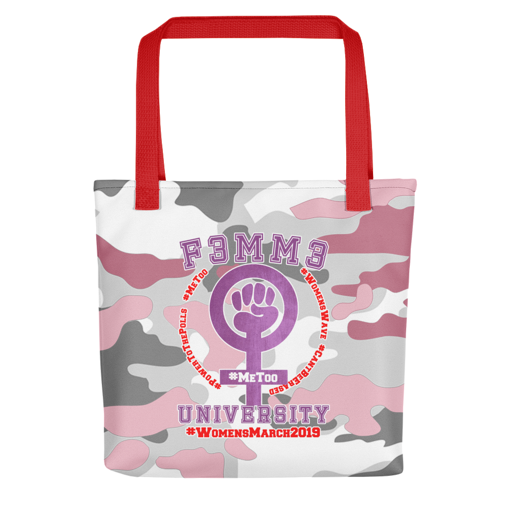 F3MM3 UNIVERSITY #WomensMarch2019 TOTE 3 VARIETIES