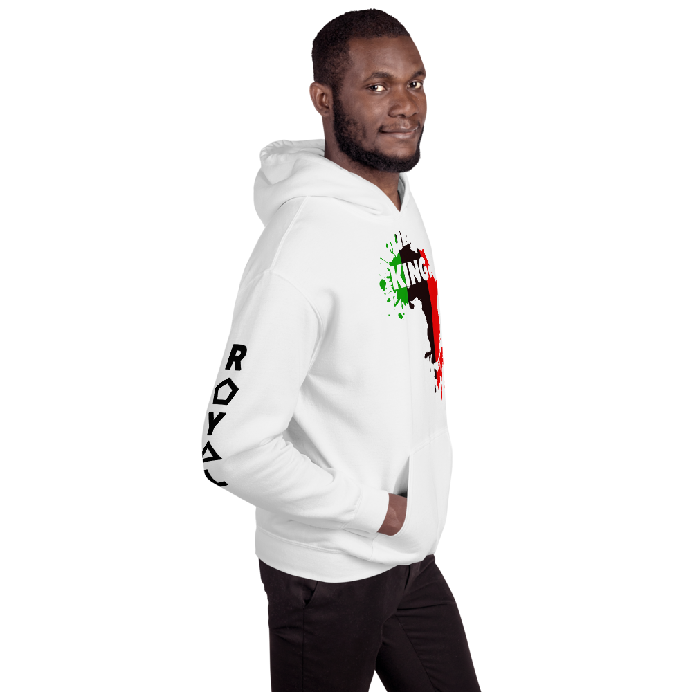 .R.O.Y.A.L. melanin magic CONSCIOUS KING VARIETY UNISEX COLOR HOODIES