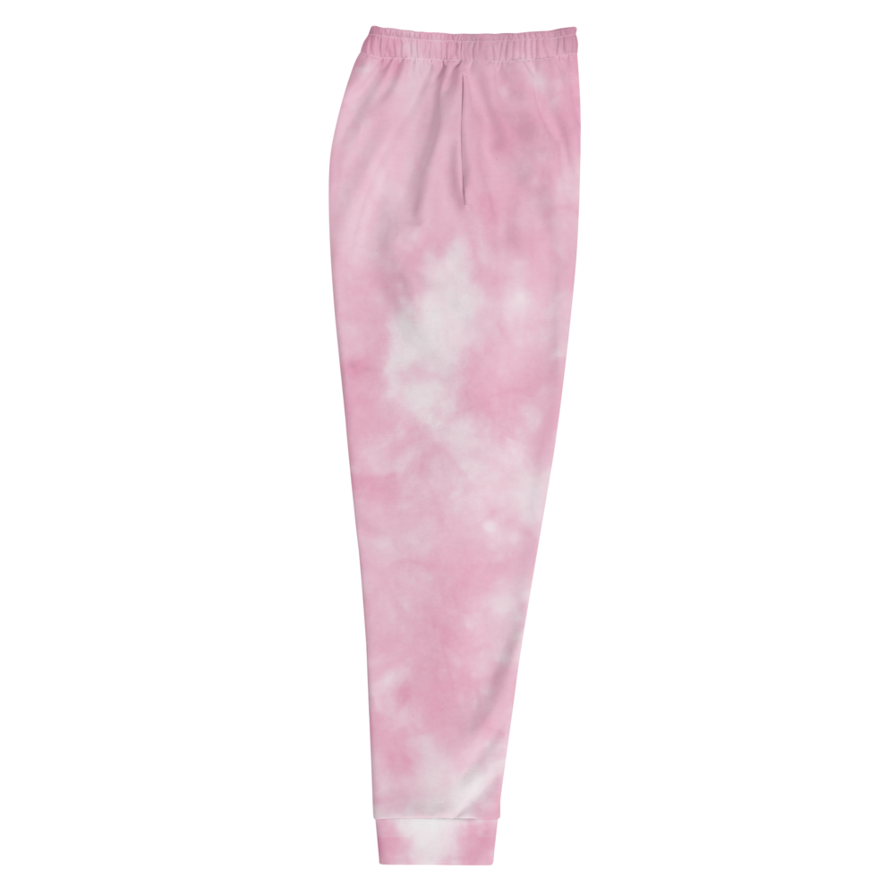 CRXWN | Drip or Dye Miami Nights Pink Foam Ice Dye UNISEX Joggers Hearts Around the World Live Love Laugh