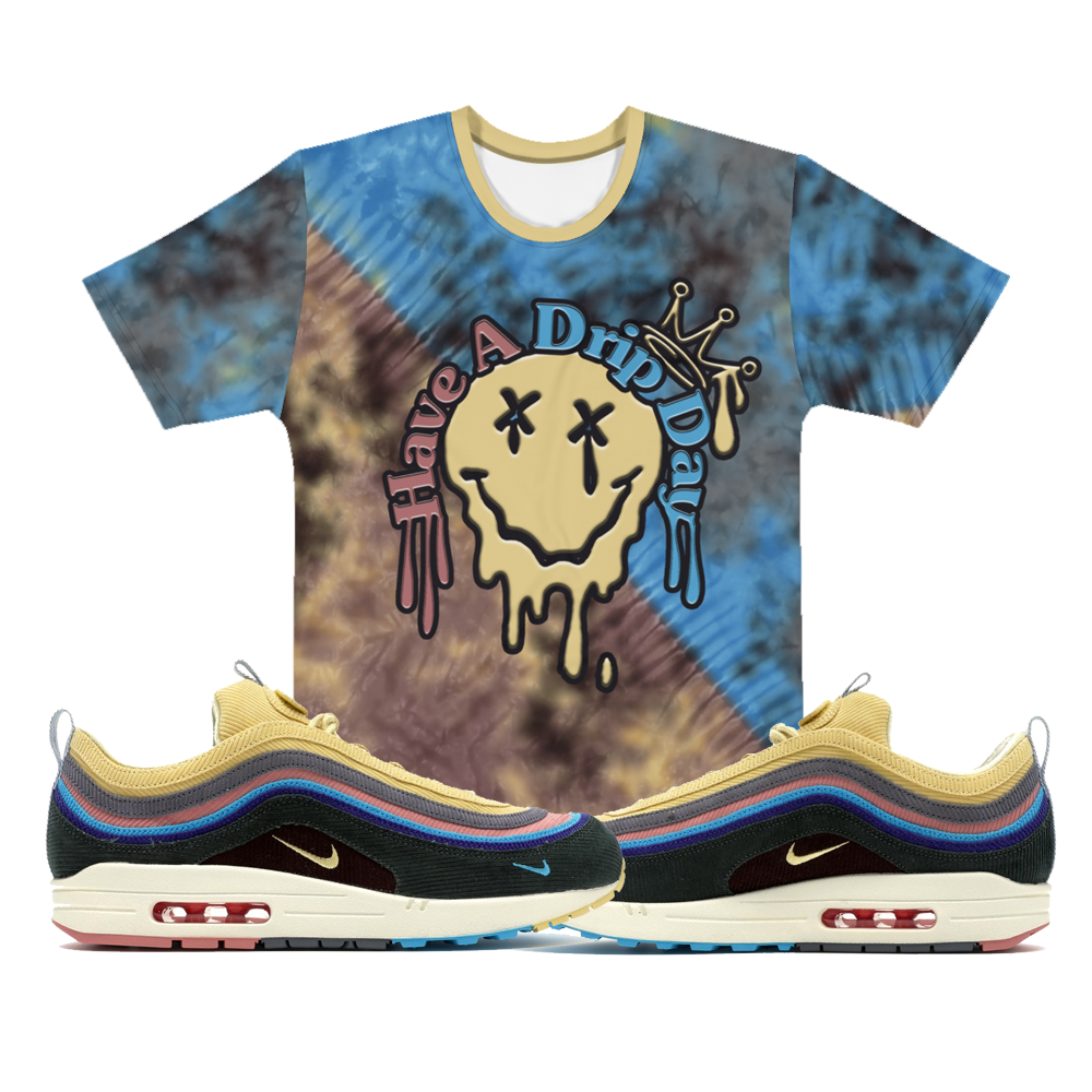 CRXWN | Drip or Dye Custom Tie Dye Crew Neck Jersey Tee Wotherspoon