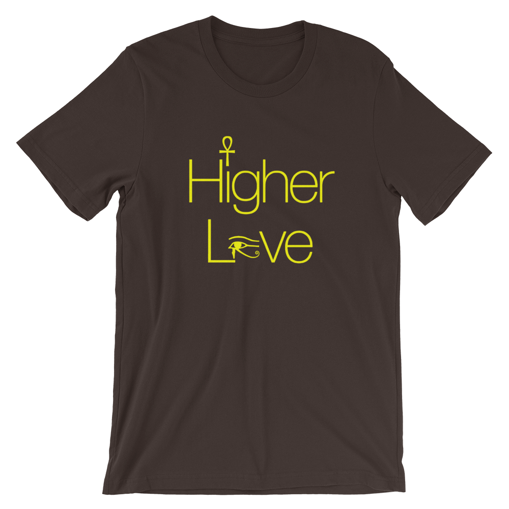 ROYAL. | Urban Resort | VIBE HIGHER LOVE UNISEX TEES WH & YELLOW ROYALTY (5 VARIETIES)