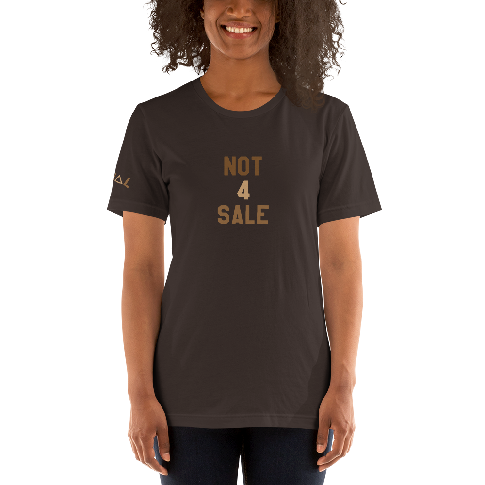 ROYAL. | STATEMENT | unisex gRAf it tee NOT 4 SALE Brown & Nu Afrique Varieties