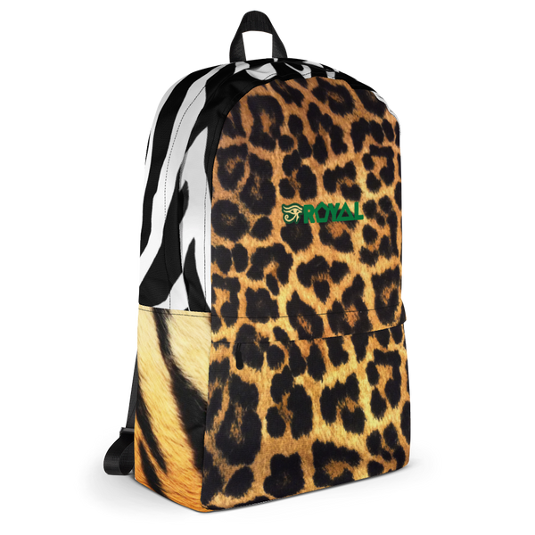 ROYAL. | Urban Resort Ra Pack Lightweight Backpack with hidden Pocket Hum-animal parade