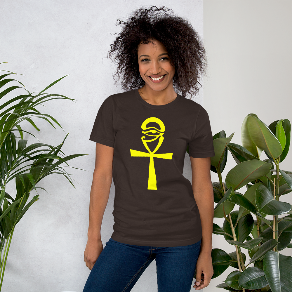 ROYAL. | Urban Resort | ANKH & EYE UNISEX TEES WH & YELLOW ROYALTY (5 VARIETIES)